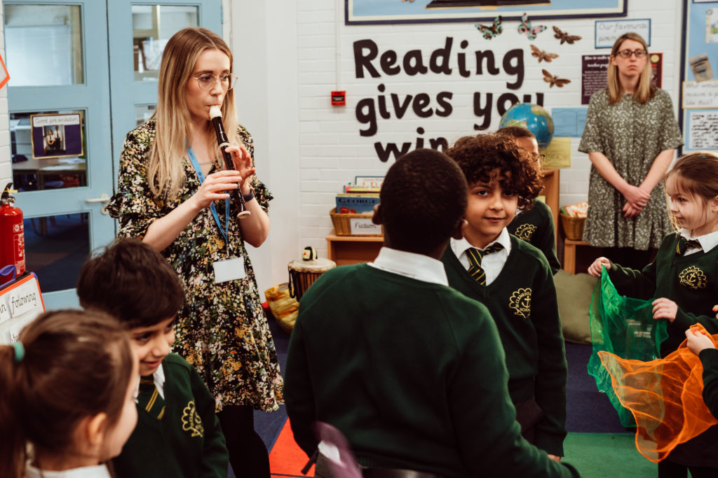 'Inspiring over 9000 children every week'